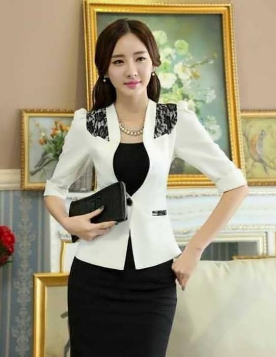 Coat daman 12 e1528576074529 مدل کت و دامن کار شده مجلسی زنانه و دخترانه شیک و جدید مدل لباس