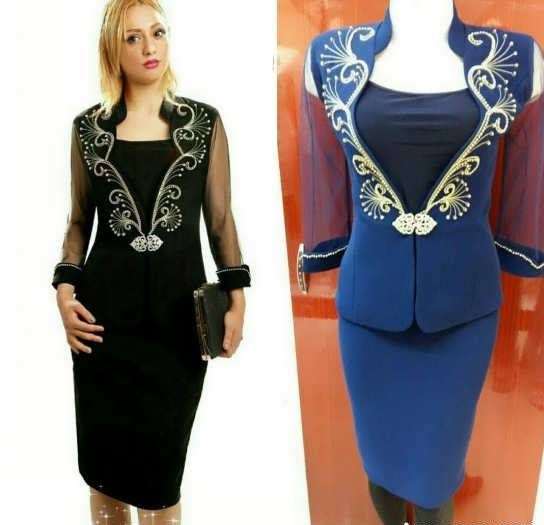 Coat daman 20 e1528576321664 مدل کت و دامن کار شده مجلسی زنانه و دخترانه شیک و جدید مدل لباس