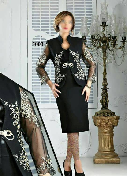 Coat daman 22 e1528576431809 مدل کت و دامن کار شده مجلسی زنانه و دخترانه شیک و جدید مدل لباس
