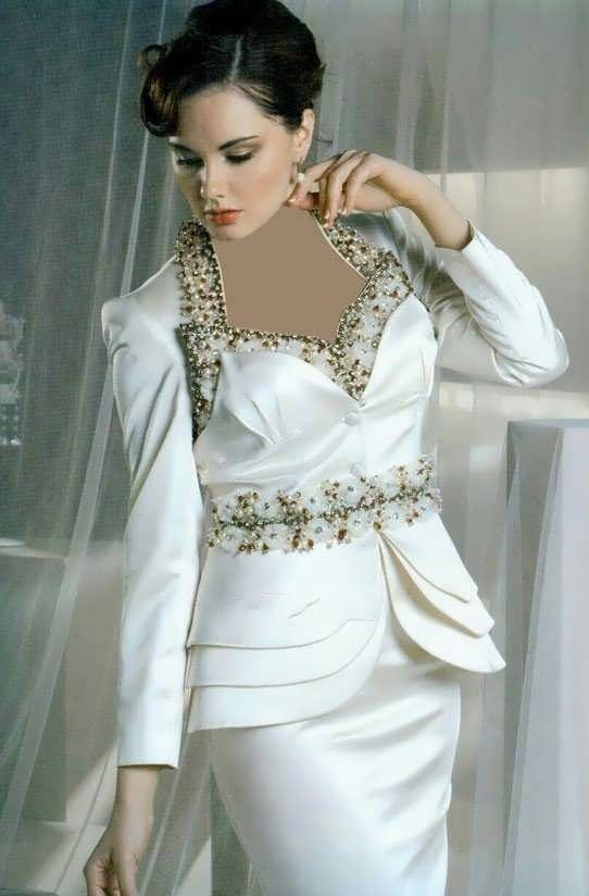 Coat daman 6 e1528575939960 مدل کت و دامن کار شده مجلسی زنانه و دخترانه شیک و جدید مدل لباس