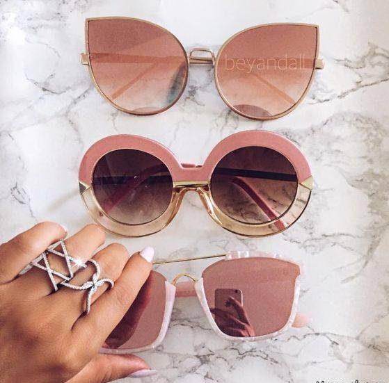 مدل های جدید عینک افتابی زنانه لاکچری و رنگی