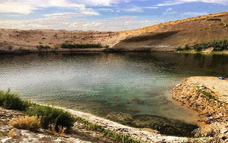 دریاچه عجیب