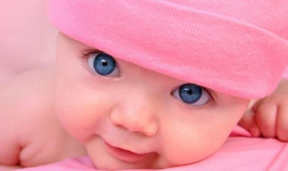 رنگ چشم نوزاد