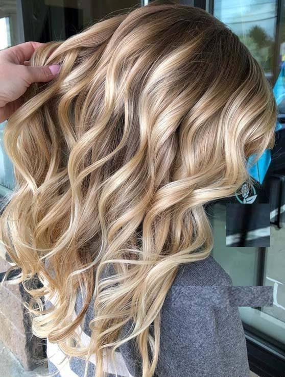 رنگ مو هایلایت زنانه و دخترانه بسیار زیبا و جدید مخصوص