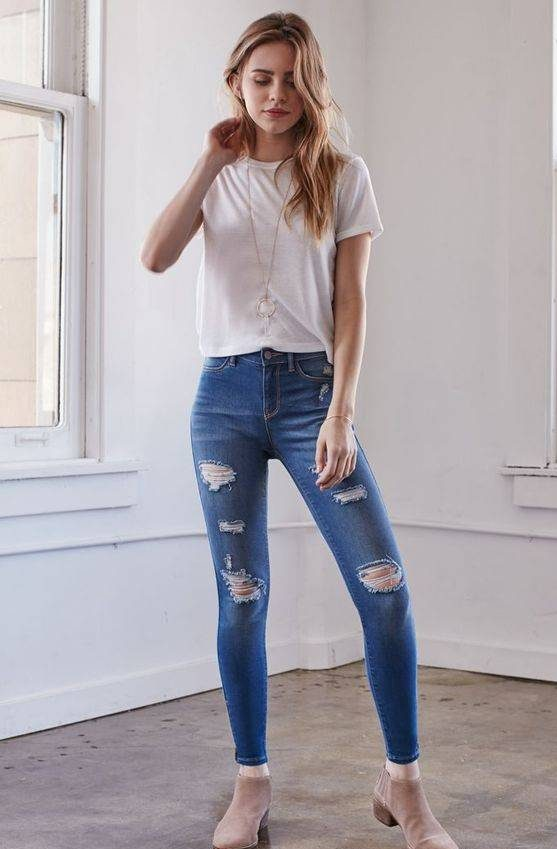 Photo of مدل شلوار جین زاپ دار برای خانم های جوان و دختران + تصاویر