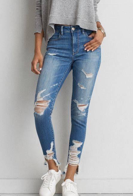 مدل شلوار جین زاپ دار