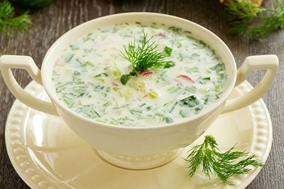 طرز تهیه سوپ سرد پیش غذایی سالم و خوش طعم
