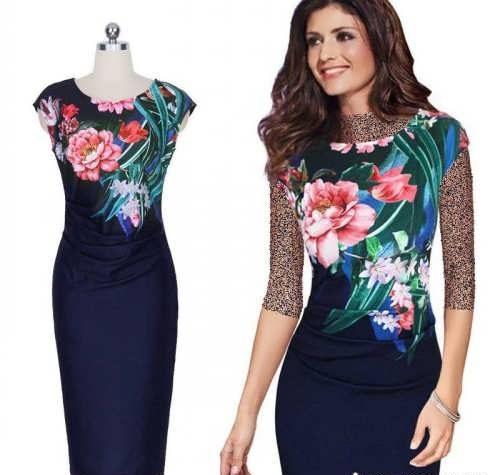 dress 19 e1529926543999 23 مدل لباس مجلسی زنانه از طراحان معروف مد مدل لباس