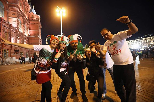 Photo of عکس های تماشاگران زن ایرانی و مرد جام جهانی 2018 روسیه