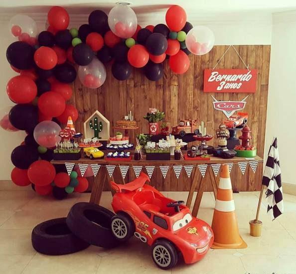 تزیینات جشن تولد با تم پسرانه