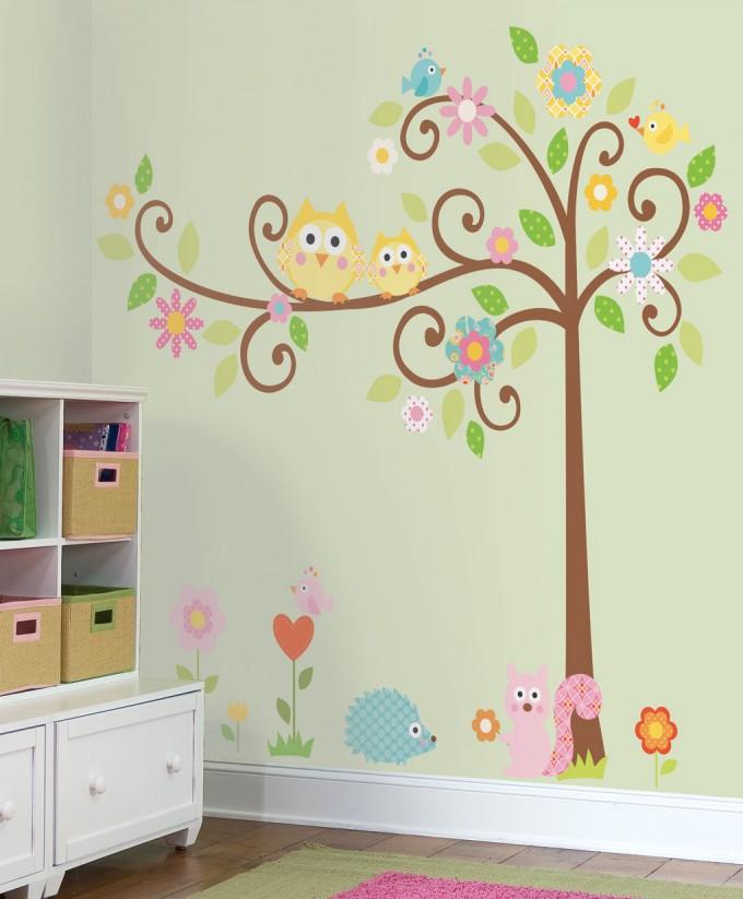 انواع مدل کاغذ دیواری برای اتاق کودک با طرح های شیک