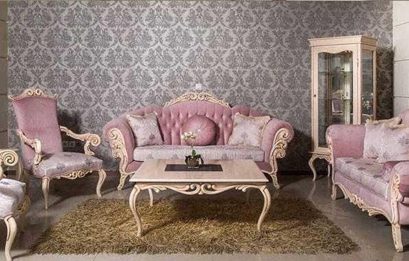 مدل های مبل کلاسیک سلطنتی زیبا و راحتی ترکیه ای برای منازل ایرانی