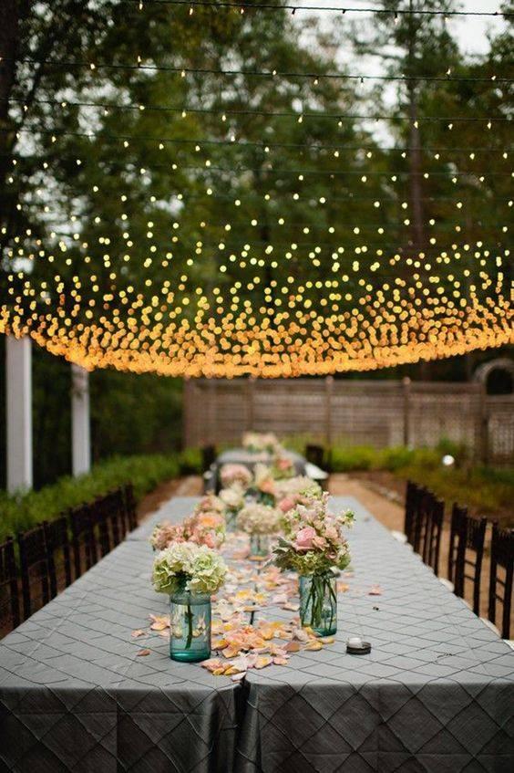مراسم عروسی در باغ