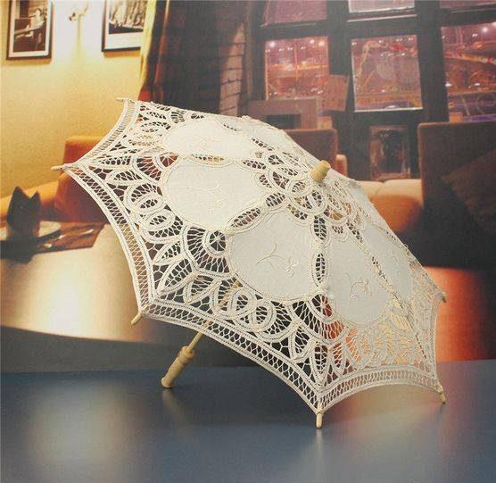مدل چتر و بادبزن عروس