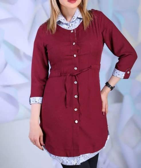 Manto Laghar 10 e1531079100195 مدل مانتو کوتاه و بلند شیک برای دختران و زنان لاغر اندام مدل لباس