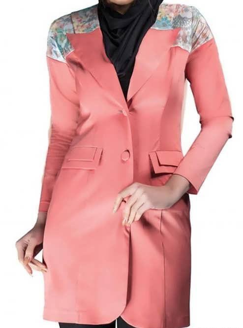 Manto Laghar 11 e1531079119227 مدل مانتو کوتاه و بلند شیک برای دختران و زنان لاغر اندام مدل لباس