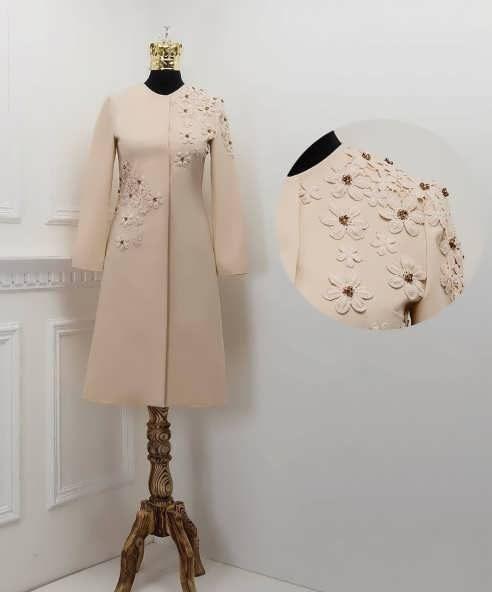 Manto Laghar 29 e1531079634654 مدل مانتو کوتاه و بلند شیک برای دختران و زنان لاغر اندام مدل لباس