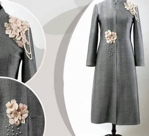 Manto Laghar 31 e1531079703659 مدل مانتو کوتاه و بلند شیک برای دختران و زنان لاغر اندام مدل لباس