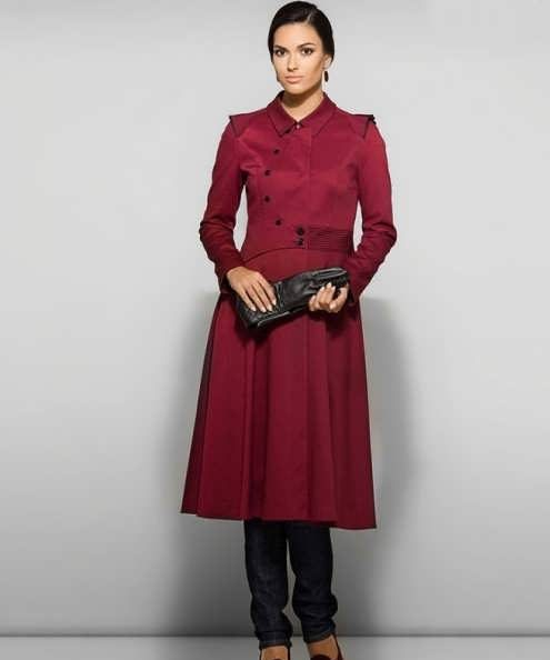 Manto Laghar 34 e1531079821790 مدل مانتو کوتاه و بلند شیک برای دختران و زنان لاغر اندام مدل لباس