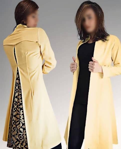 Manto Laghar 5 e1531078912183 مدل مانتو کوتاه و بلند شیک برای دختران و زنان لاغر اندام مدل لباس