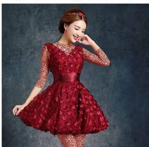 مدل لباس های مجلسی کوتاه دخترانه جدید