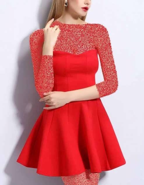 Mini Dress 9 e1531052098209 مدل لباس مجلسی کوتاه؛ لباس کوتاه مجلسی ویژه خانم های خوش پوش مدل لباس
