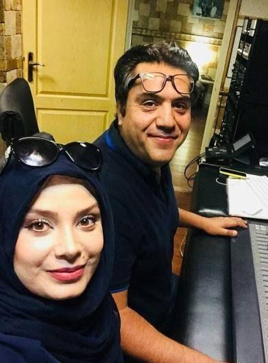 Photo of عکس های دونفره رمانتیک صبا راد مجری ایرانی و همسرش مانی رهنما