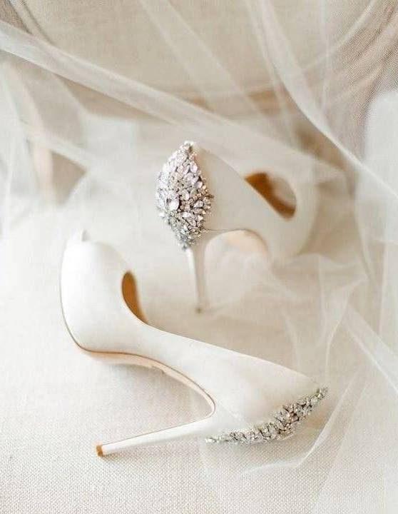 مدل کفش پرنسسی سفید عروس
