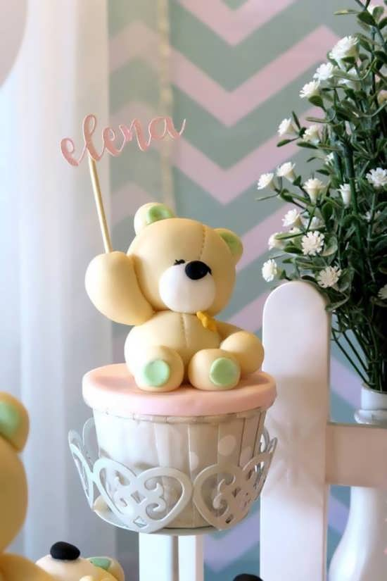 تم تولد دخترانه و پسرانه تدی خرس با تزیینات زیبا و جالب