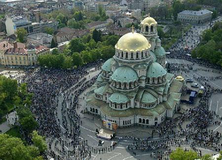 کلیسای الکساندر نوسکی در بلغارستان