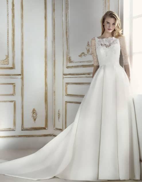bRIDAL dRESS 10 e1531225142449 مدل لباس عروس ایرانی در انواع طرح های ویژه عروس خانم های زیبای ایرانی مدل لباس