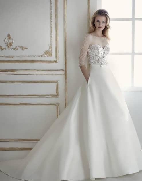 bRIDAL dRESS 14 e1531225250142 مدل لباس عروس ایرانی در انواع طرح های ویژه عروس خانم های زیبای ایرانی مدل لباس