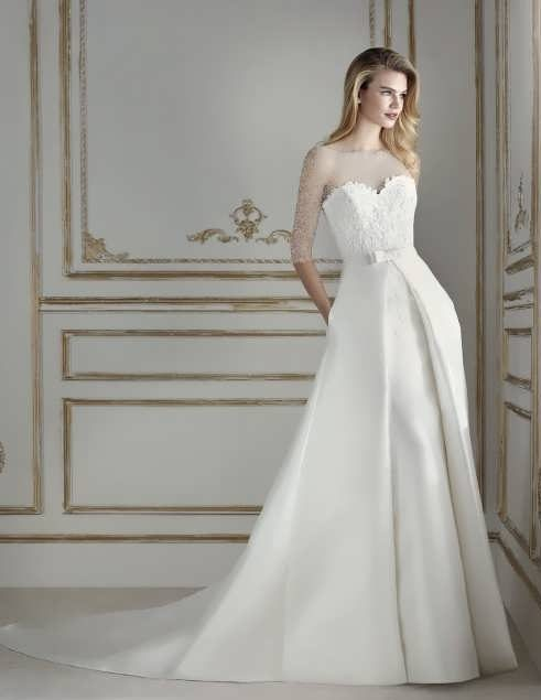 bRIDAL dRESS 15 e1531225270794 مدل لباس عروس ایرانی در انواع طرح های ویژه عروس خانم های زیبای ایرانی مدل لباس