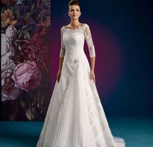 bRIDAL dRESS 2 e1531224863527 مدل لباس عروس ایرانی در انواع طرح های ویژه عروس خانم های زیبای ایرانی مدل لباس