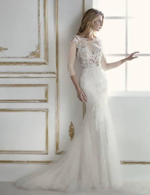 bRIDAL dRESS 26 e1531225512643 مدل لباس عروس ایرانی در انواع طرح های ویژه عروس خانم های زیبای ایرانی مدل لباس