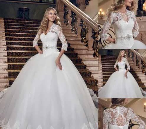 bRIDAL dRESS 3 1 e1531224884336 مدل لباس عروس ایرانی در انواع طرح های ویژه عروس خانم های زیبای ایرانی مدل لباس