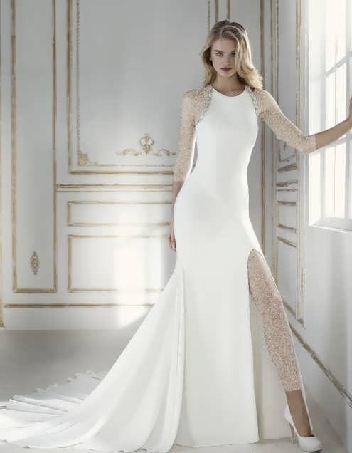 bRIDAL dRESS 31 e1531225833663 مدل لباس عروس ایرانی در انواع طرح های ویژه عروس خانم های زیبای ایرانی مدل لباس