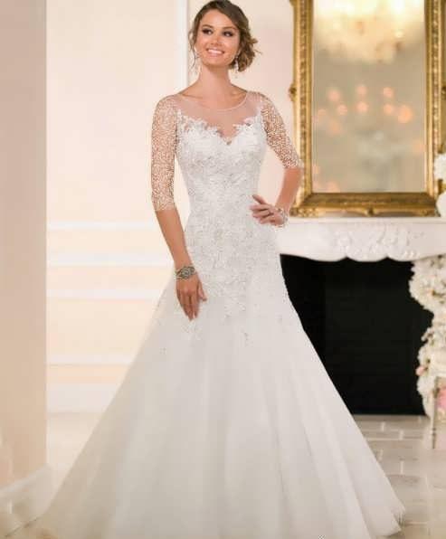 bRIDAL dRESS 33 e1531225867318 مدل لباس عروس ایرانی در انواع طرح های ویژه عروس خانم های زیبای ایرانی مدل لباس