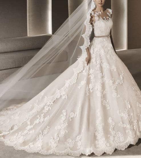 bRIDAL dRESS 8 e1531225027653 مدل لباس عروس ایرانی در انواع طرح های ویژه عروس خانم های زیبای ایرانی مدل لباس