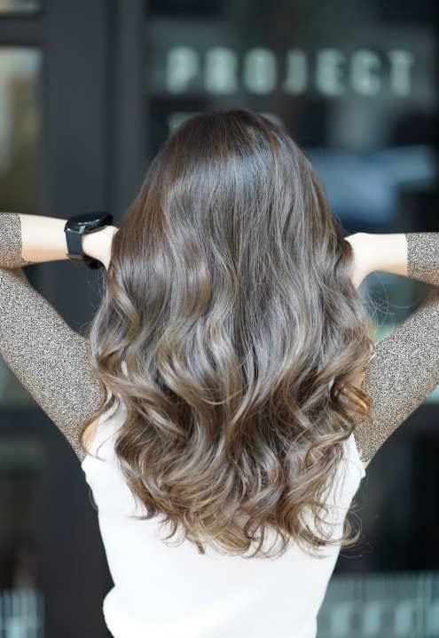 فرمول ترکیب رنگ موی خاکی