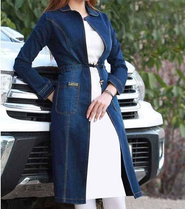 مدل مانتو لی جلوباز