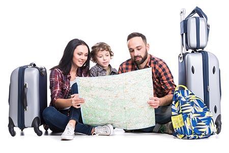 روش صرفه جویی در سفر با وجود بچه