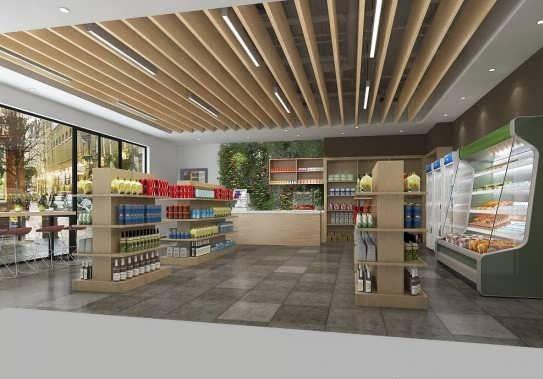 مدل سقف مغازه
