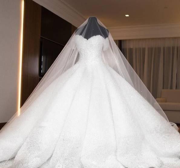 نکاتی برای انتخاب و استفاده از ژپون لباس عروس + تصاویر