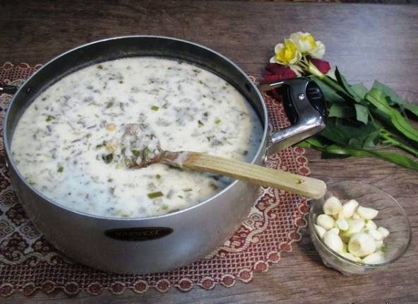 آش دوغ قزوین