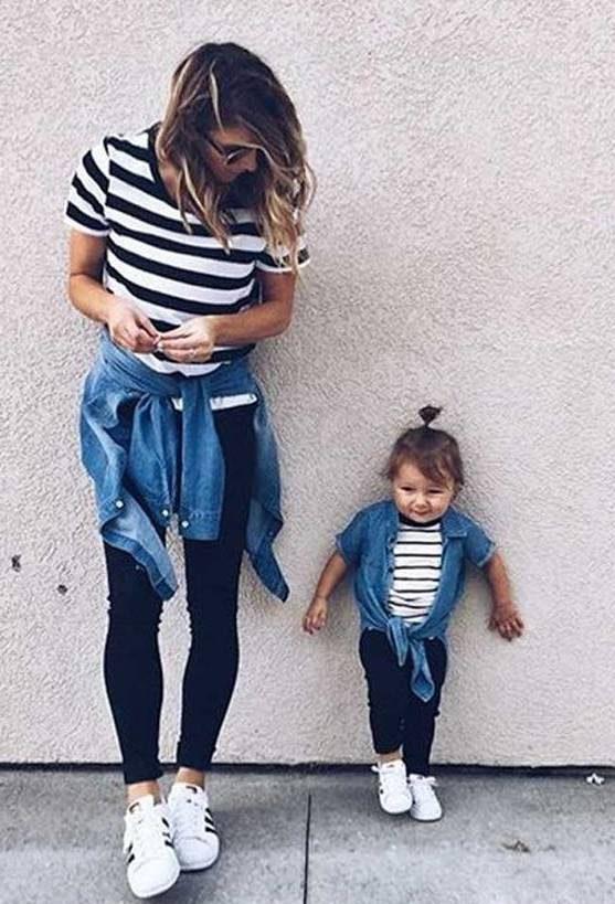 ست لباس مادر و دختر