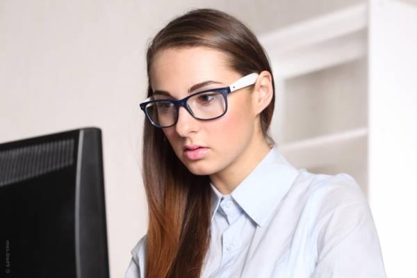 تقویت کردن چشم بعد از کار کردن با کامپیوتر