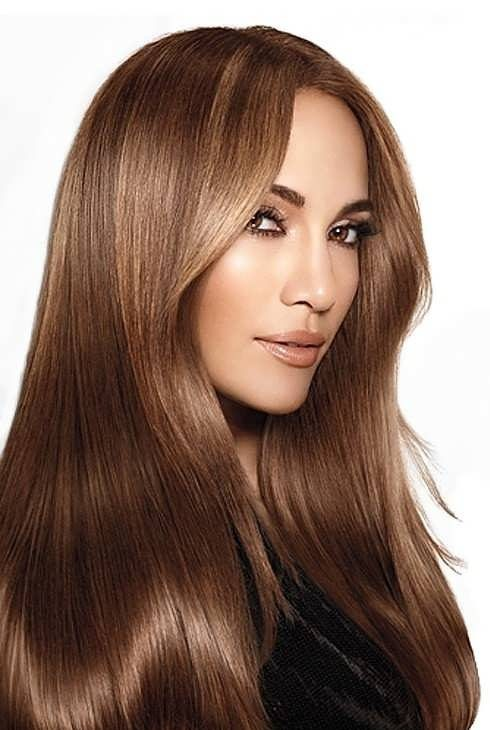 فرمول رنگ موی قهوه ای طلایی