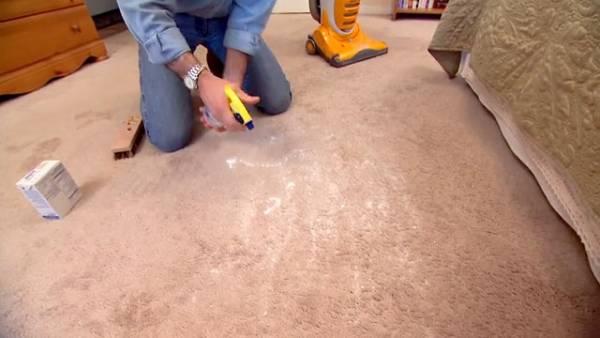 پاک کردن لکه استفراغ و بوی بد استفراغ از روی فرش و لباس ها