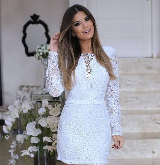 مدل لباس مجلسی سفید رنگ